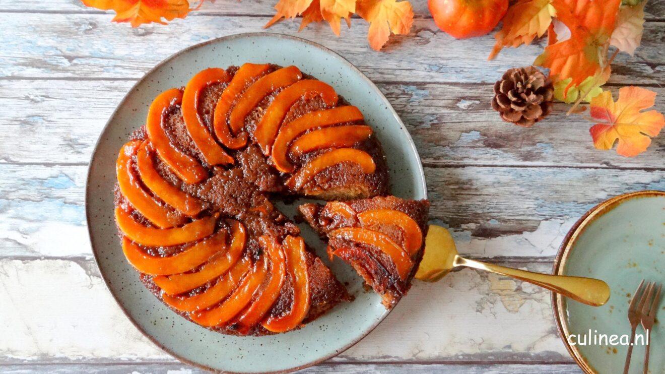Pompoen karamel cake