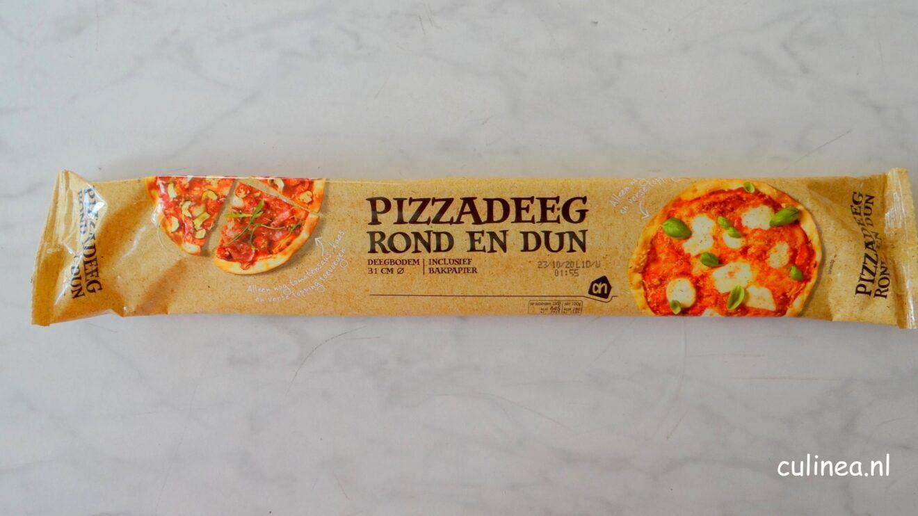 Vegetarische kebab pizza