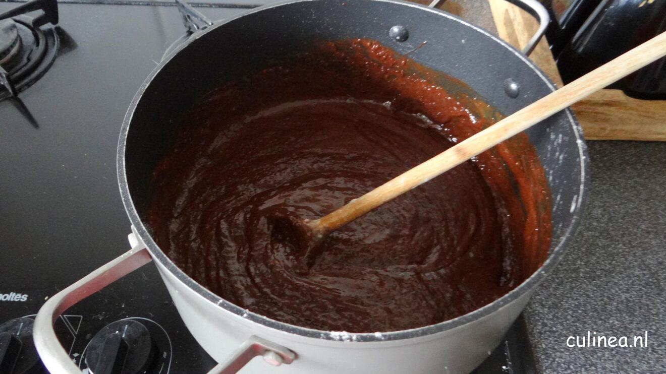 Zweedse smeuïge chocoladetaart kladdkaka
