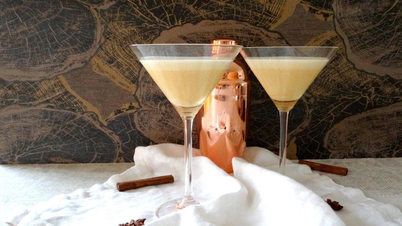 Chai wodka cream cocktail