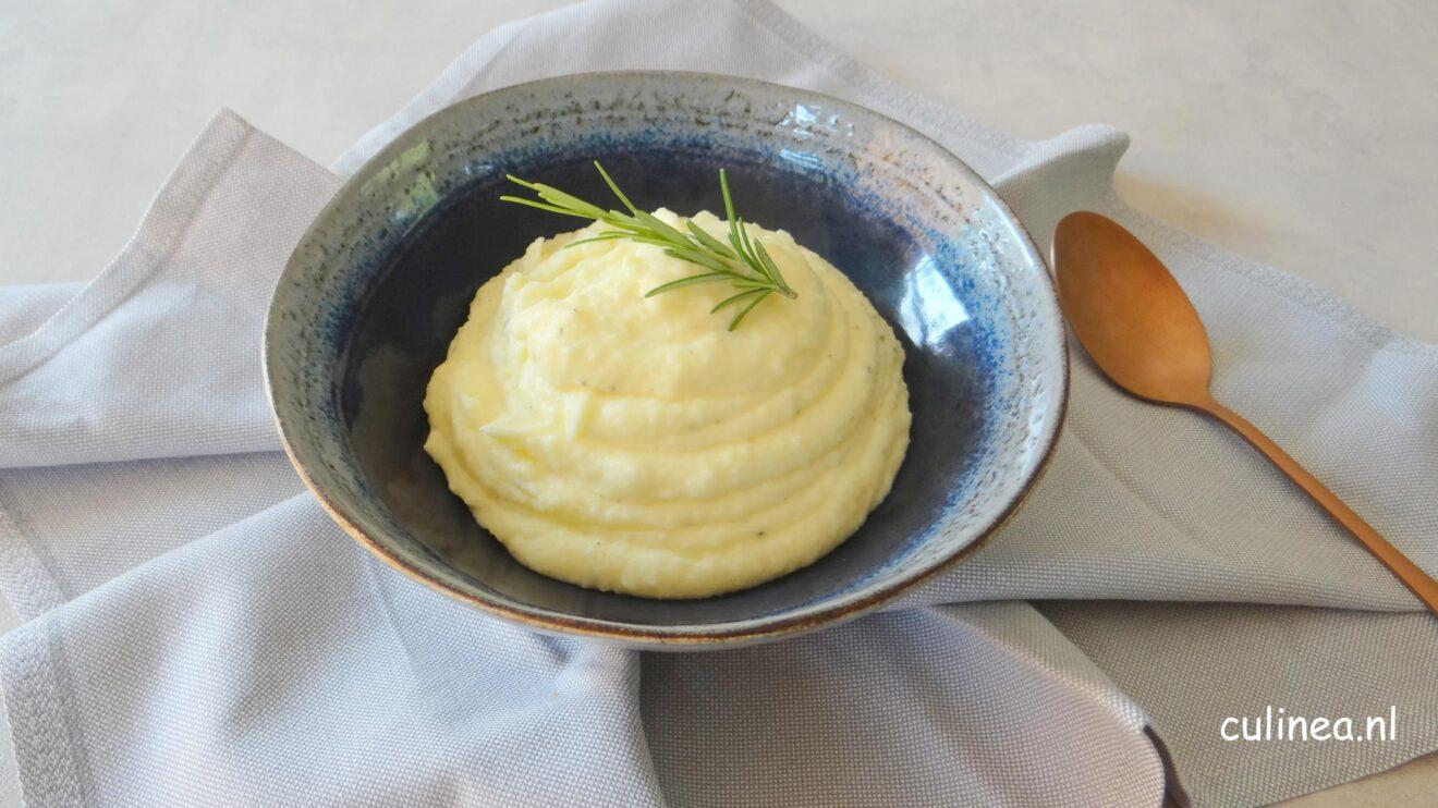 Lekkere luchtige aardappelmousseline
