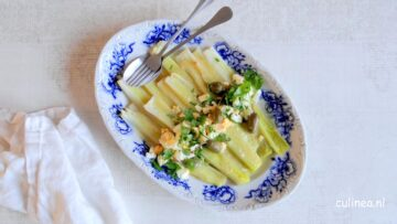 Poireaux vinaigrette is een klassiek Frans recept