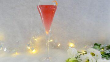 Feestelijke Champagne cocktail