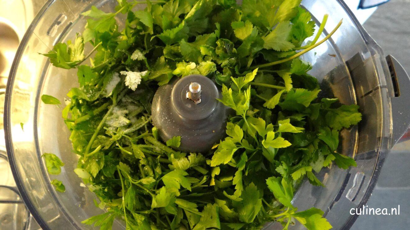 Caribische green seasoning