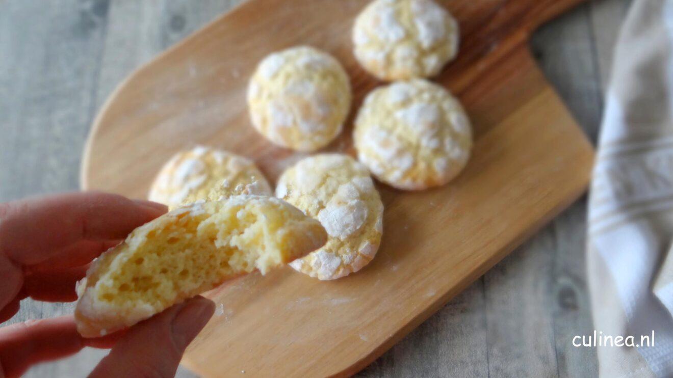 Craquelé citroen boterkoeken