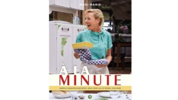 "Kookboek ""A la minute"" van Mari Maris"