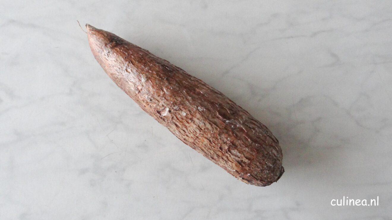 Cassave puree met knoflook