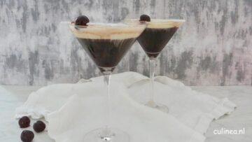 Koffiecocktail met Amarena