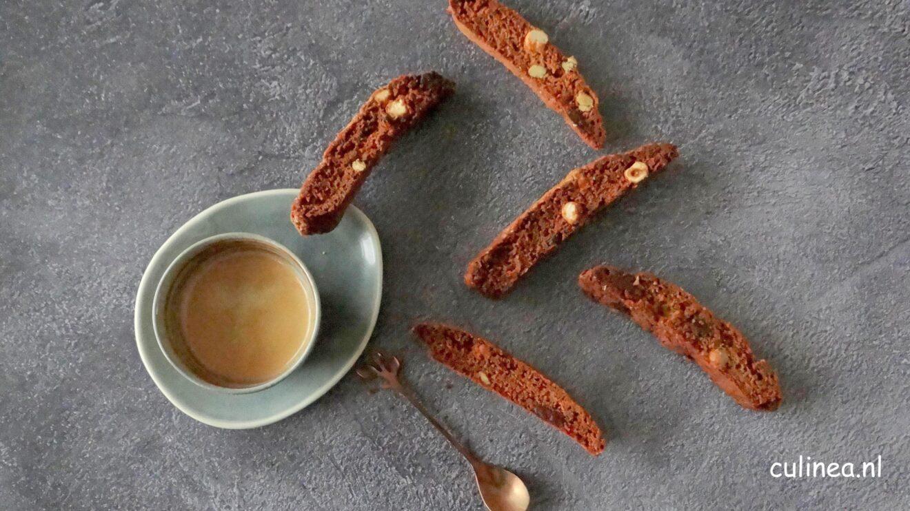 Mokka hazelnoot Cantuccini