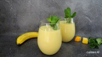 Tropische fruit smoothie