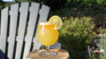 Tropische bier mocktail