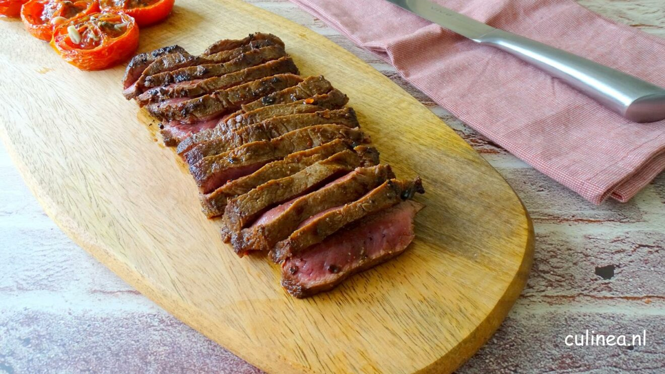 Gegrilde Flat Iron steak